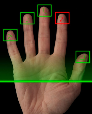 mobile live scan fingerprinting